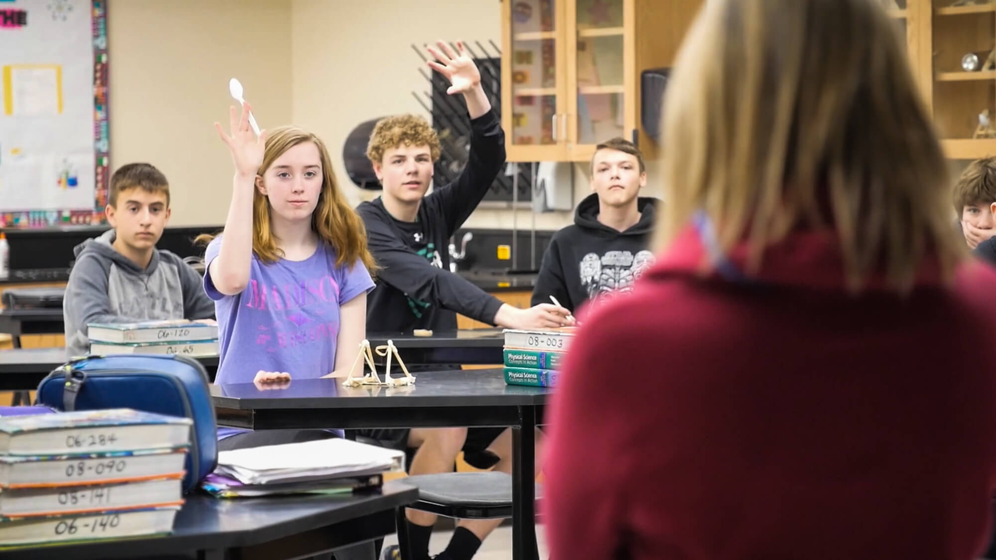 Classroom Interaction - Raised Hands